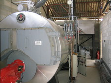 Example of steam boiler - (Photo : Crieppam)
